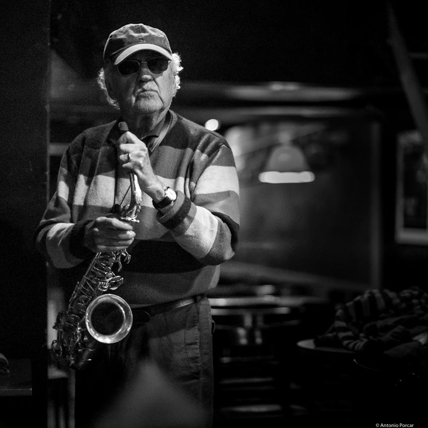 Lee Konitz en Jimmy Glass // Antonio Porcar Cano