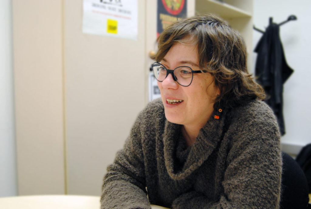 Eulàlia Reguant al seu despatx de l'Ajuntament de Barcelona / Anna Solé Sans