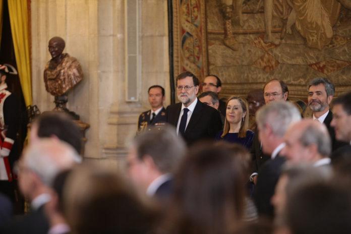 Rajoy asiste al acto de imposición del Toisón de Oro a la princesa de Asturias / La Moncloa