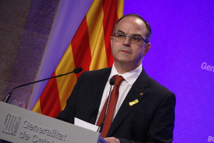 El portaveu del Govern, Jordi Turull / Rafa Garrido