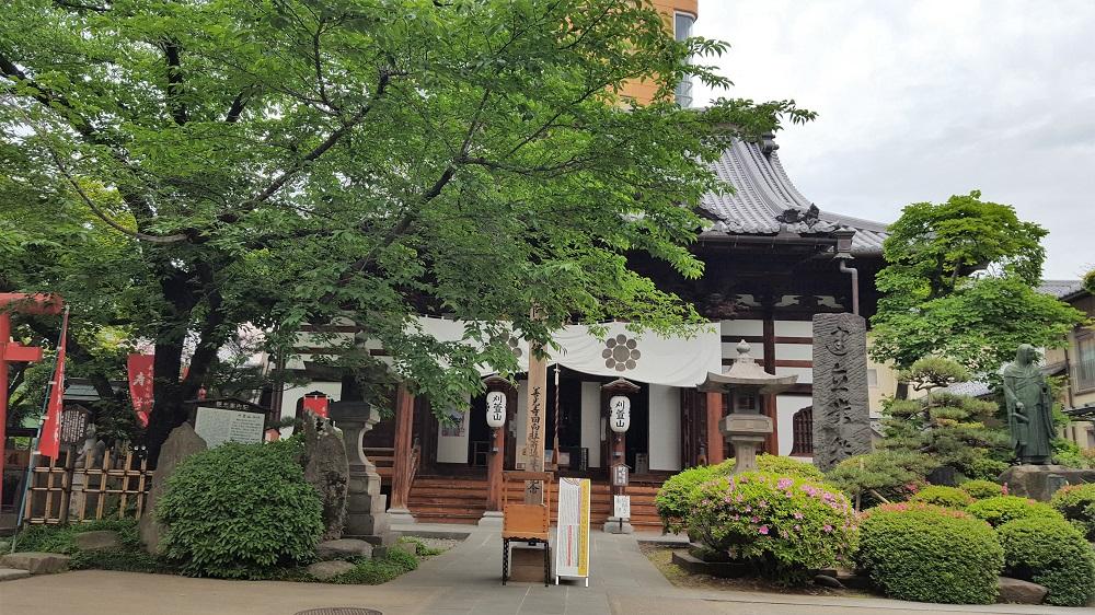 Petit temple abans d'arribar al Zenkoji