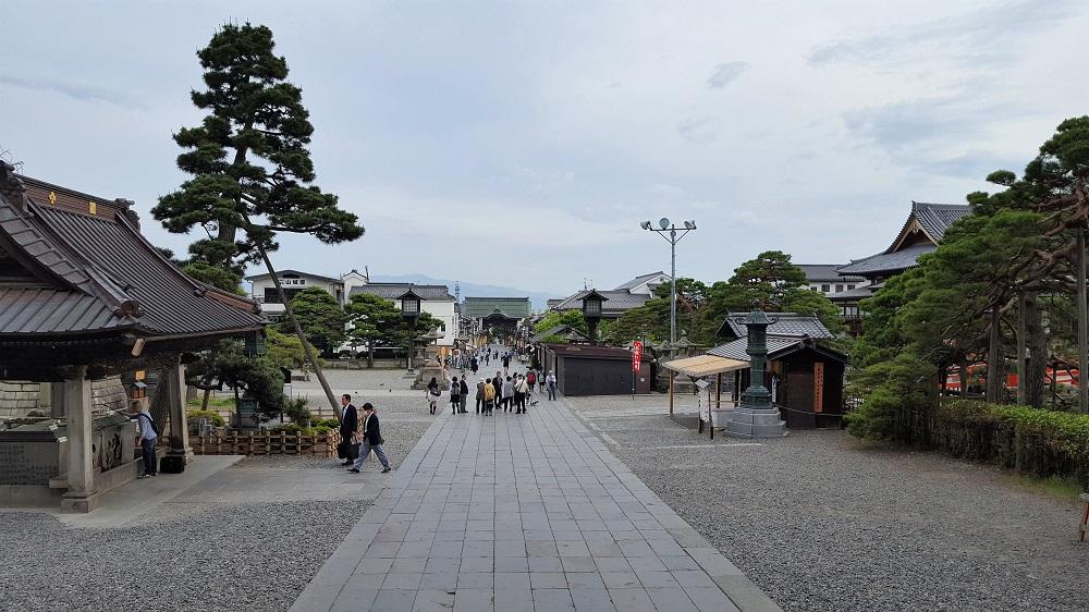 Vistes des del temple