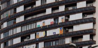 Estelades als balcons / Jordi Ventura
