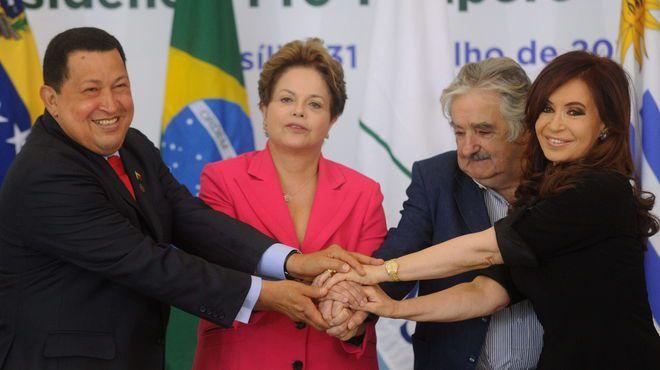 Mandatarios de la revolución democrática latinoamericana
