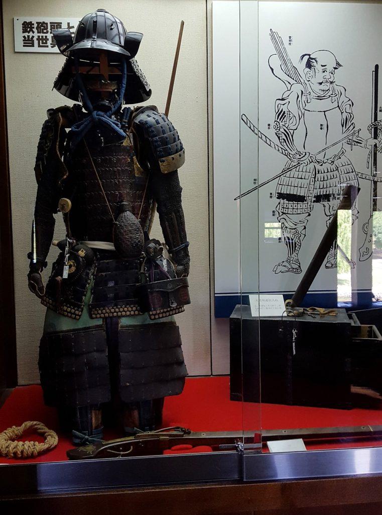 Armadura de samurai