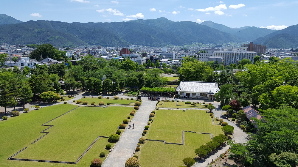 Vistes del parc, la ciutat i les muntanyes
