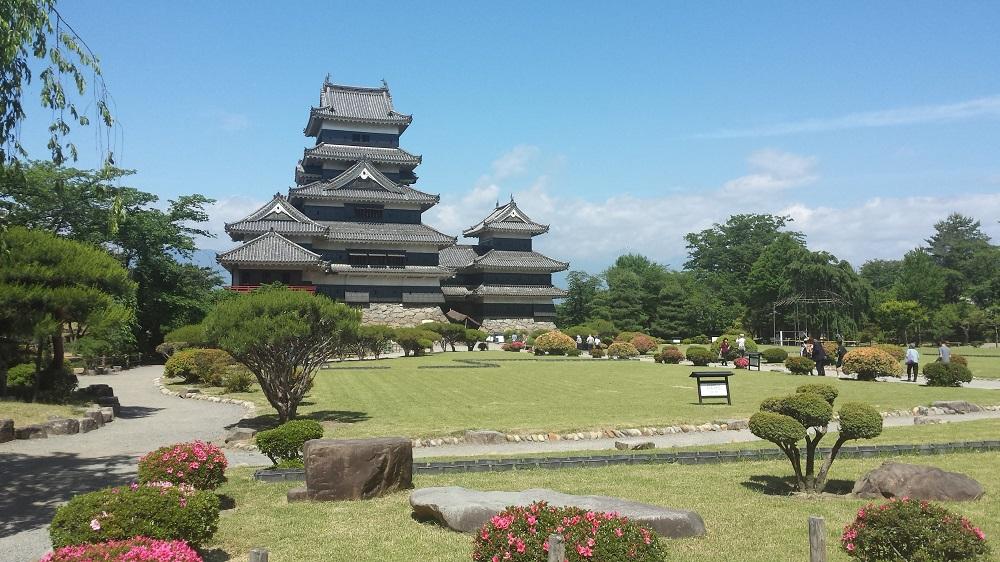 Castell de Matsumoto o Karasu-jo