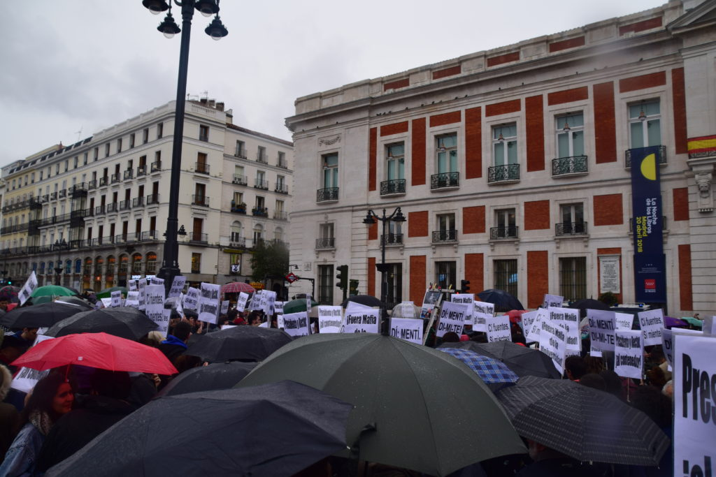 Dia de protesta a Sol// Clara Fernández