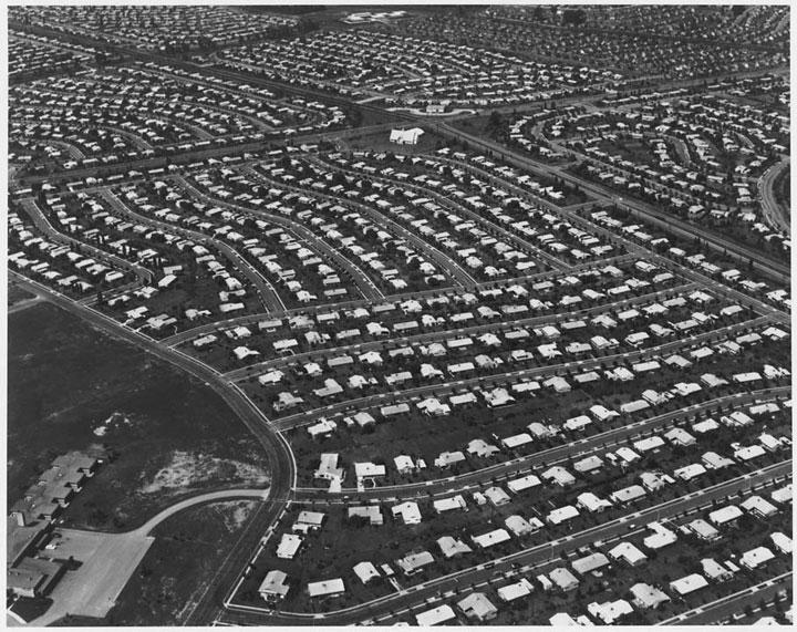 Barri residencial als EUA