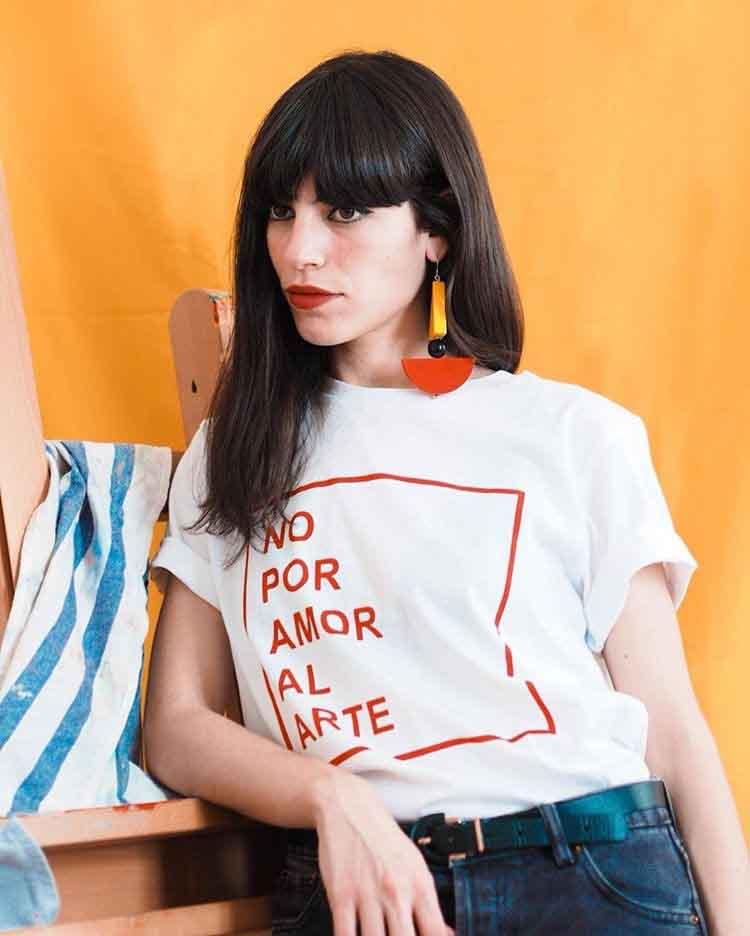 """L'artisa Coco Dávez participa a la campanya """"No por amor al arte"""""""