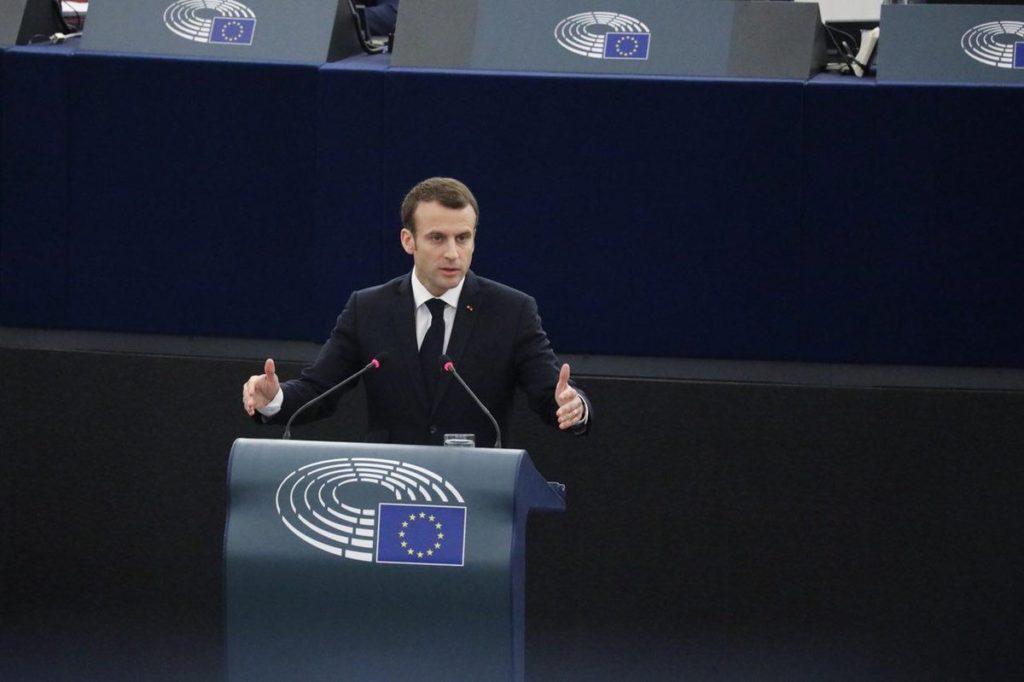 Macron al Parlament europeu / @EmmanuelMacron