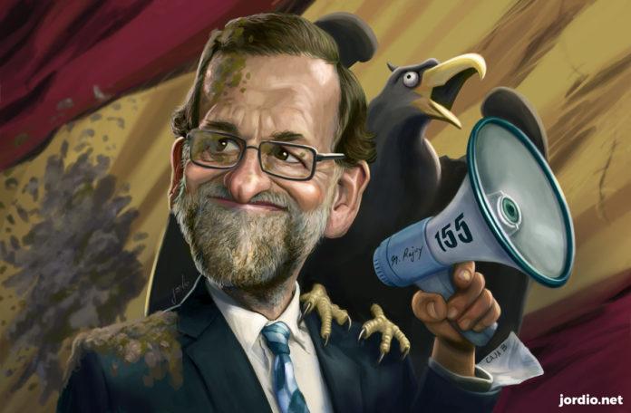 Caricatura de M.Rajoy per Jordi Minguell / jordio.net