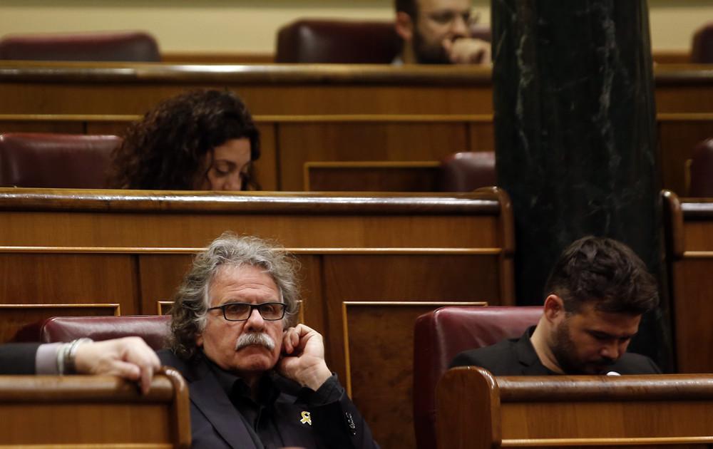Tardà i Rufián al Congreso / Javier Barbancho