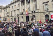 Investidura d'Ada Colau / Barcelona En Comú