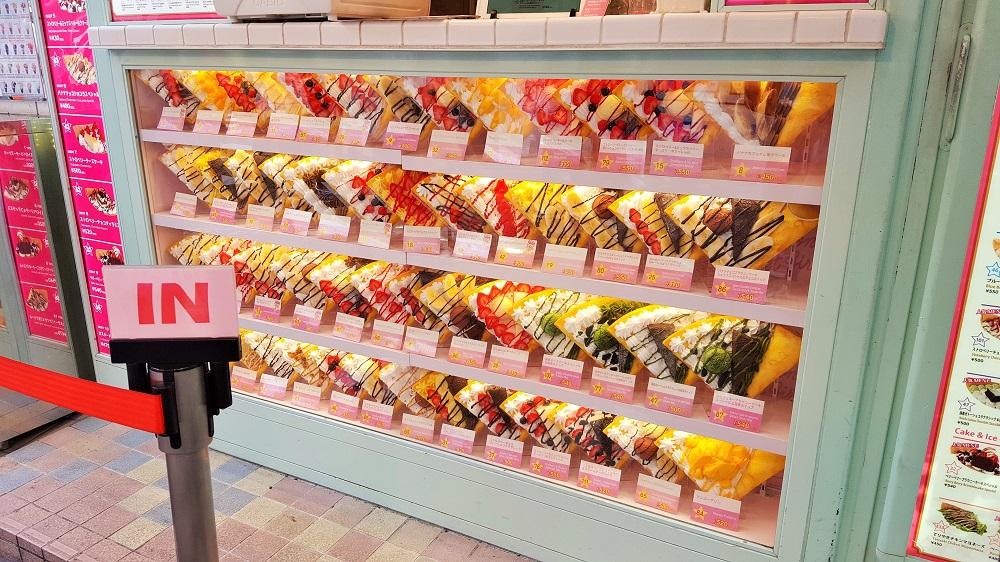 Creperia de Harajuku amb mil sabors