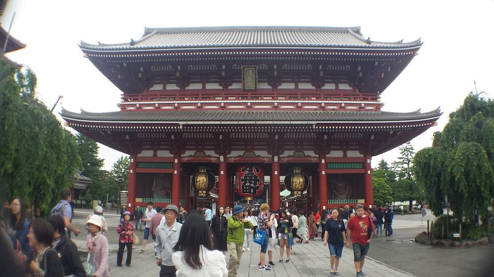 Porta d'accés Kaminari-mon