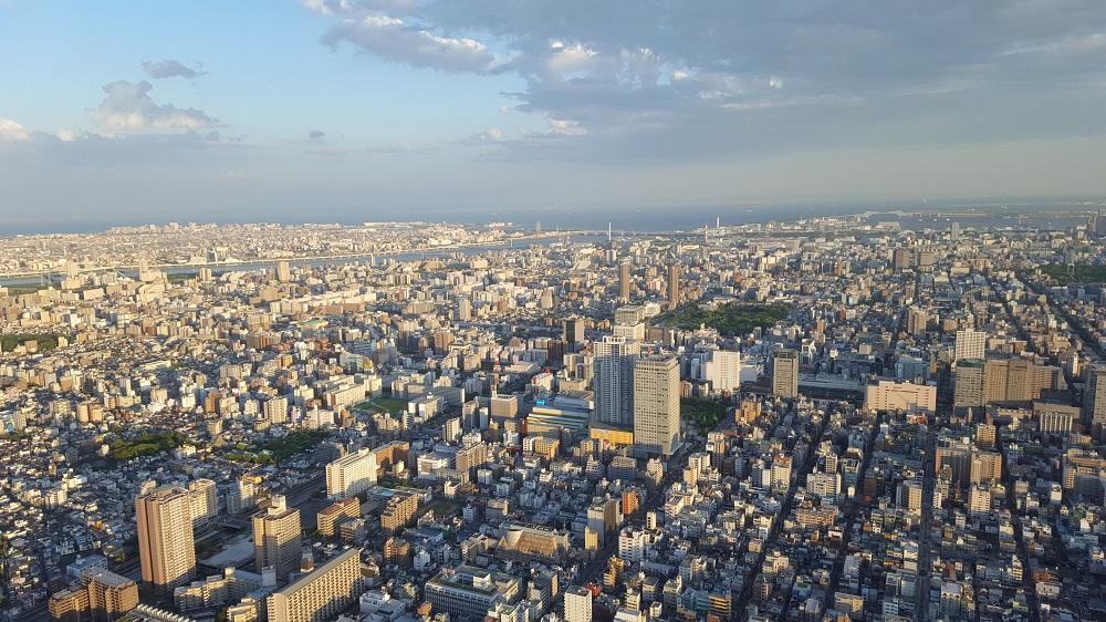 Vistes de Tòquio des de la Tokyo Sky Tree