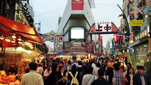 Dos carrers principals del mercat