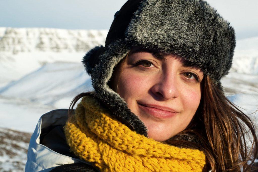 Irene Solà va viure un any a Islàndia, una experiència decisiva en la seva carrera. © Hening Kreitel