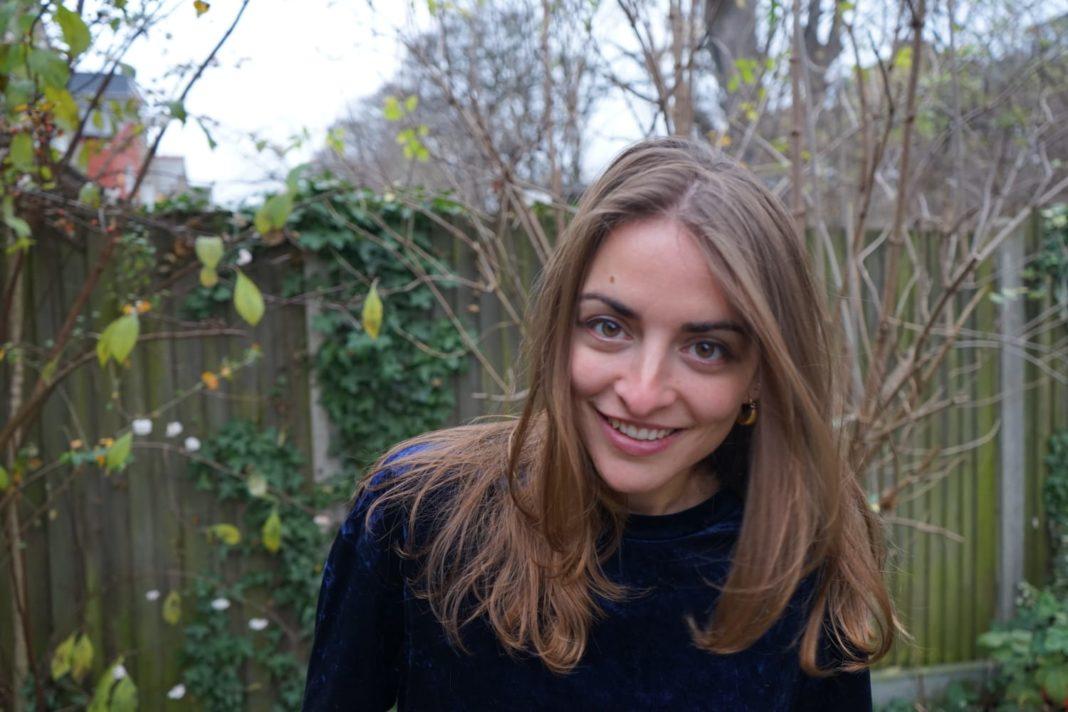 L'escriptora i artista osonenca Irene Solà viu a Londres des de fa tres anys. © Albert Garcias i Oscar Holloway
