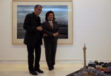 José Miguel G. Cortés y Consuelo Císcar en el IVAM