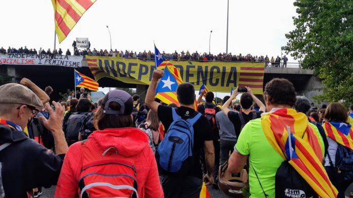 Marxa Llibertat Columna Tarragona-Berga Dia3 / Flickr Assemblea