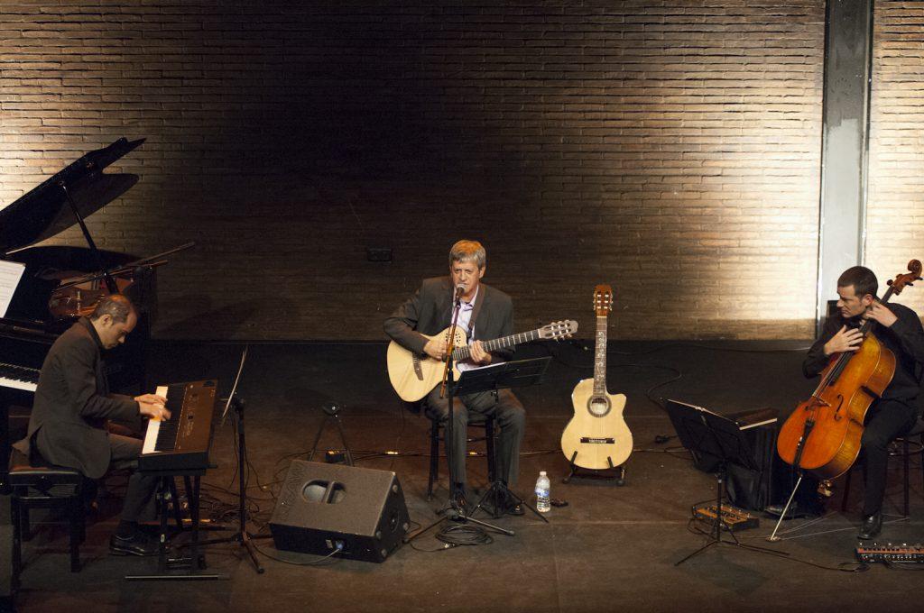 Rafa Xambó al Teatre Micalet l'any 2013