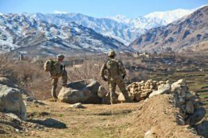 Militars als peus muntanyes afganeses. Font: Pixabay.