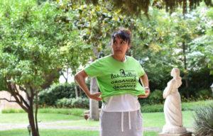 La Miriam, una de les portaveus de Las kellys de Barcelona per Marina León @marinaleonfoto